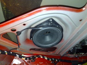 Rear Speakers 3 Doors Punto
